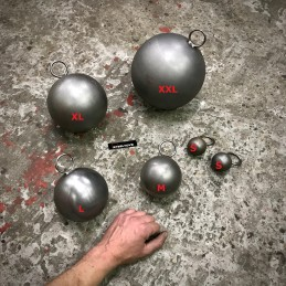 Steeltoys steel bdsm weight ball