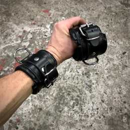 Leather Wrist cuffs /...