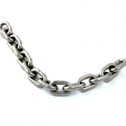 Steeltoys stainless steel chain with stainless padlock