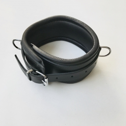 Neck collar, Leather, 6 cm....